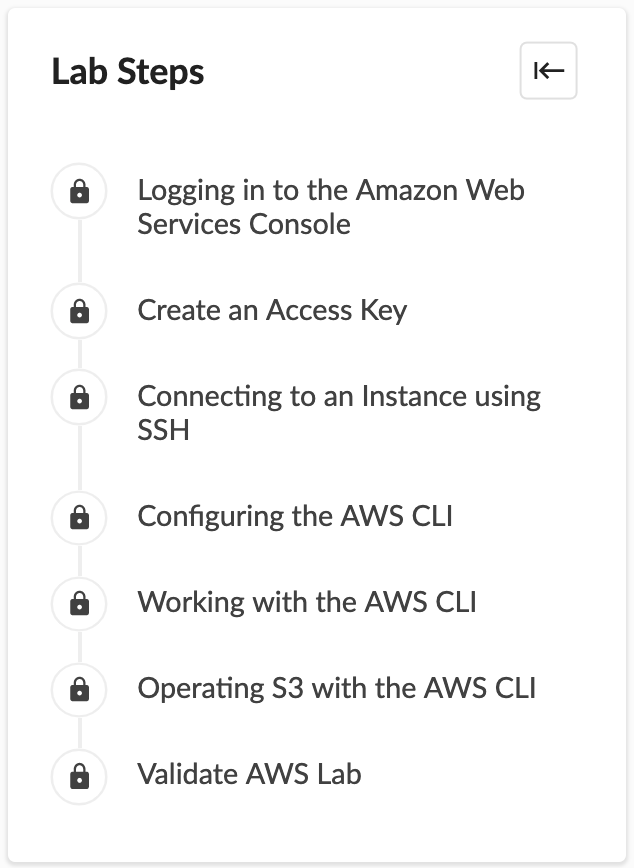 Cloud Academy AWS CLI Lab
