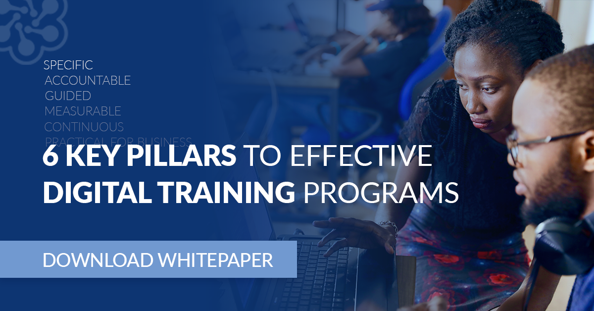 6 key pillars to effective digital training programs