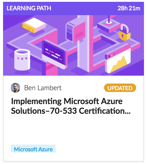 Implementing Microsoft Azure Solutions Certication
