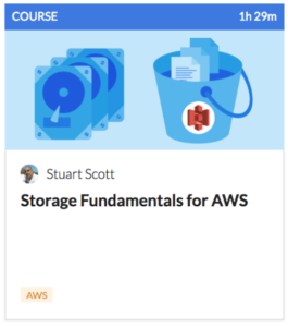 CloudAcademy S3 Storage Fundamentals