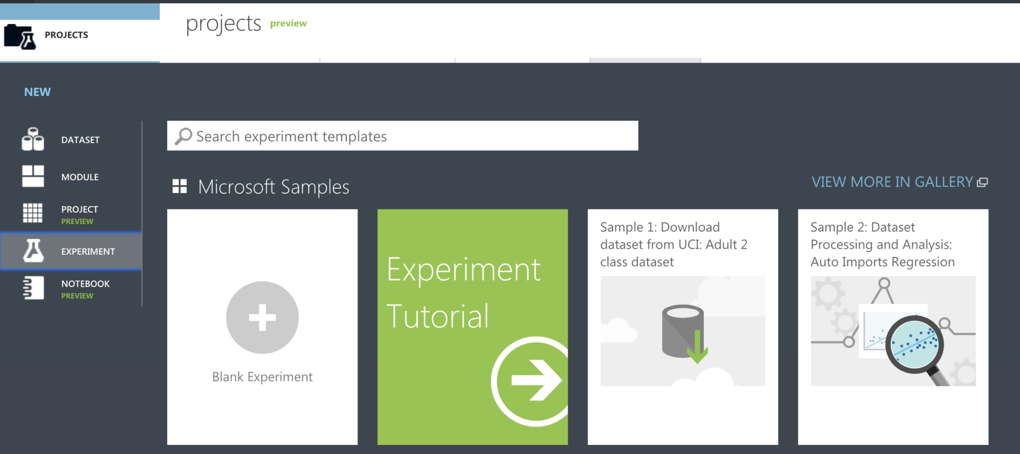 Microsoft Azure Machine Learning Studio