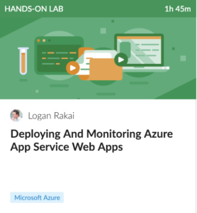 Deploying And Monitoring Azure App Service Web Apps