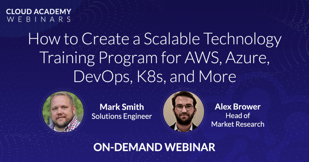 How to Create a Scalable Technology Training Program for AWS, Azure, DevOps, K8s, and More