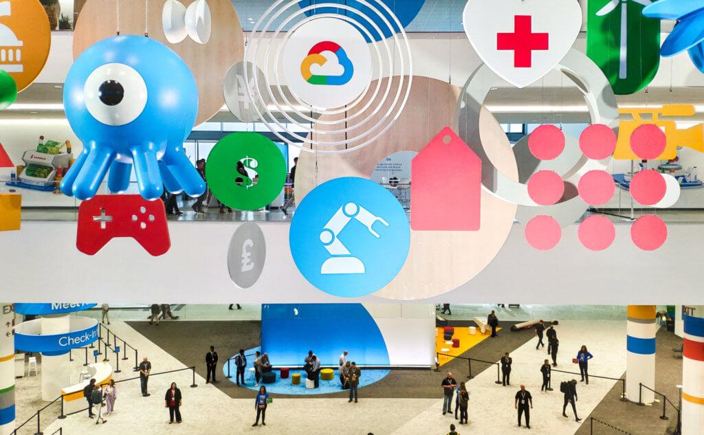 Google Cloud Next Show Floor
