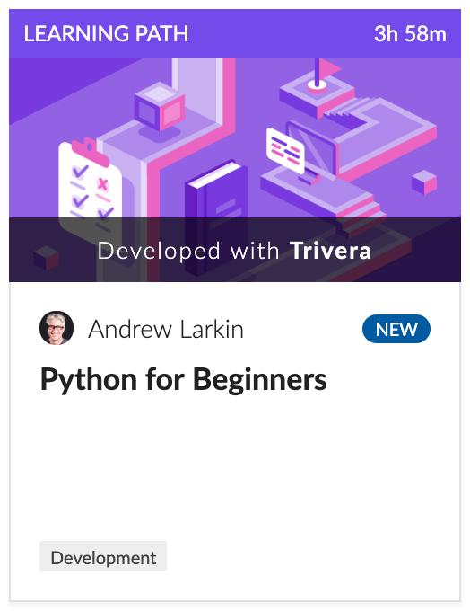 Cloud Academy Python for Beginners