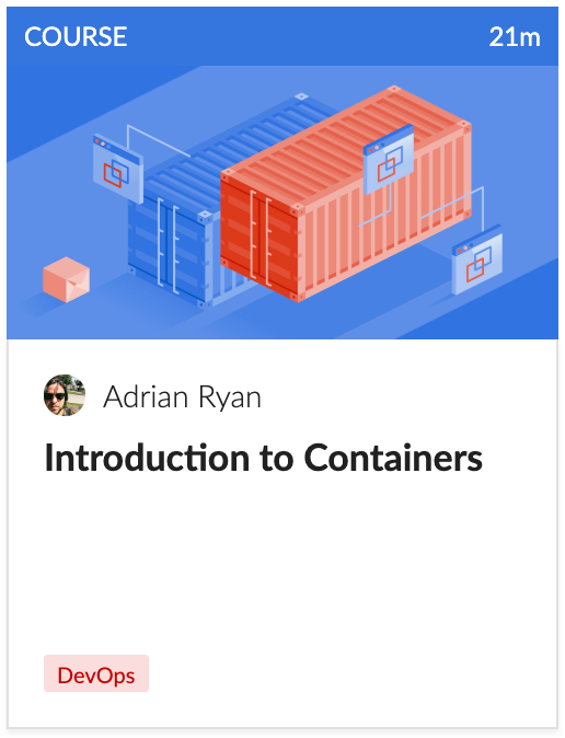 Cloud Academy Intro to Containers