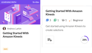 Getting Started with Amazon Kinesis Learning Path
