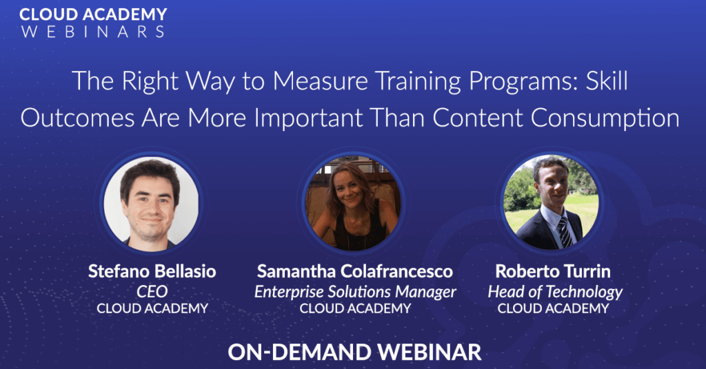 The Right Way to Measure Training Programs: Skill Outcomes are More Important Than Content Consumption