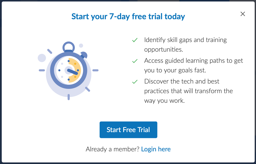 Cloud Academy 7-day free trial