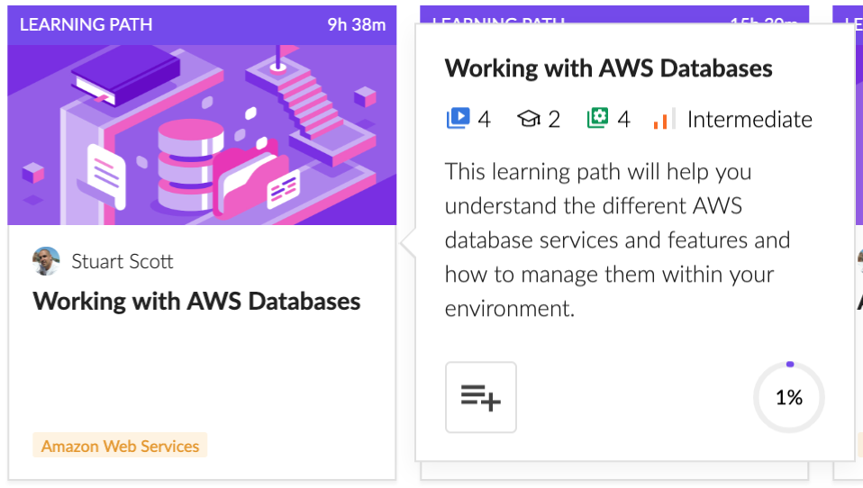 Working with AWS Databases