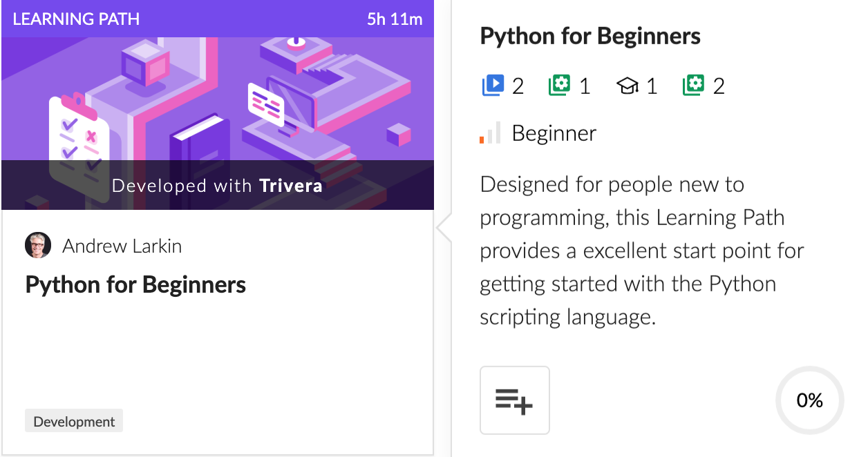 Cloud Academy Python for Beginners