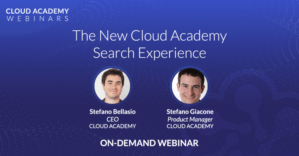 The New Cloud Academy Search Experience