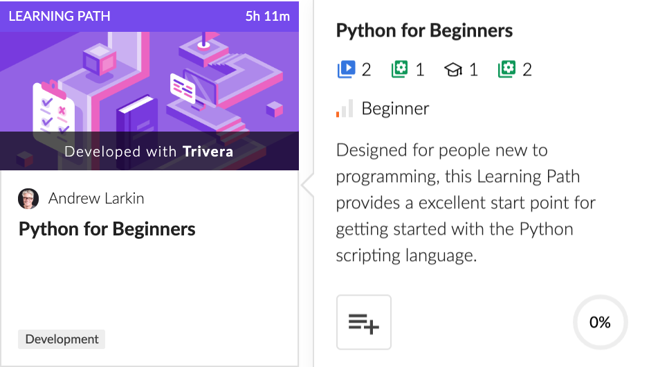 Python for Beginners Learning Path