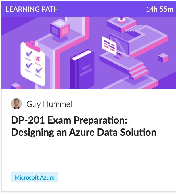 Microsoft Certified: Azure Data Engineer Associate