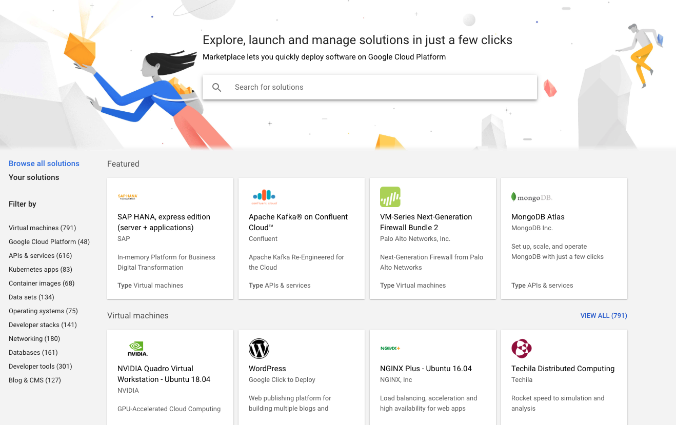 Google Cloud Marketplace