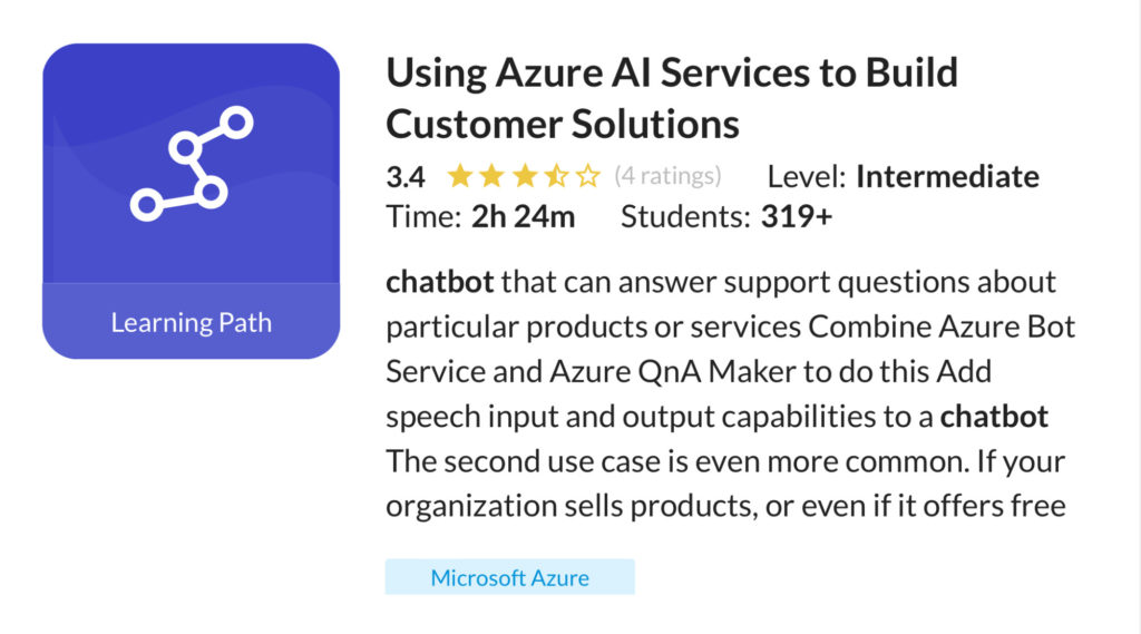 Using Azure AI Services to Build Customer Solutions