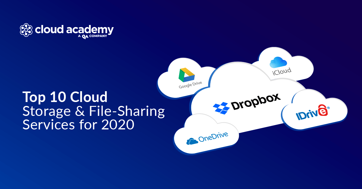 Top 10 Cloud Storage File Sharing Services For 2020 Cloud Academy