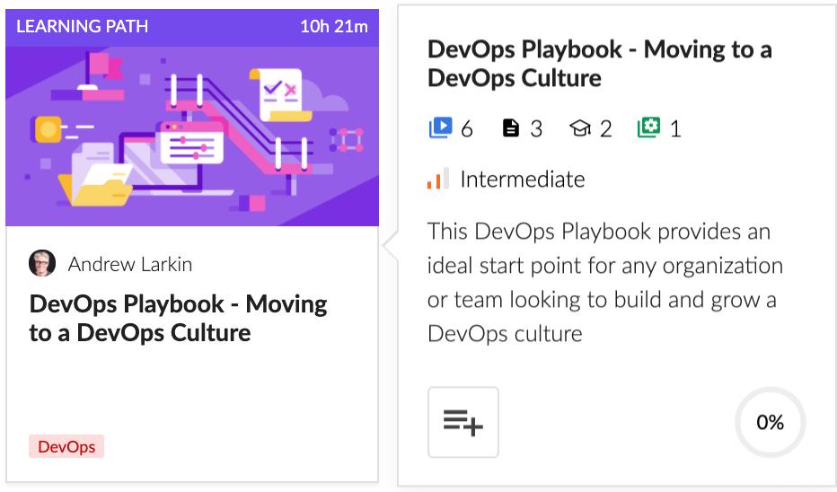 DevOps Playbook - Moving to a DevOps Culture