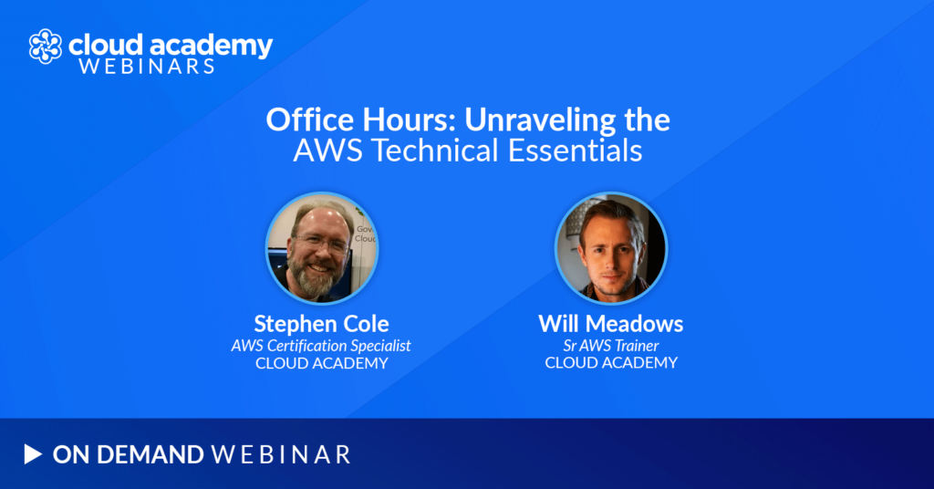 Office Hours: Unraveling the AWS Technical Essentials