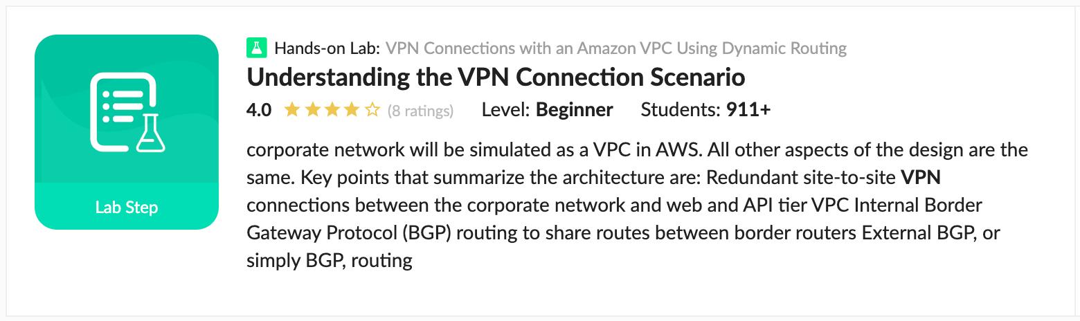 Understanding the VPN Connection Scenario