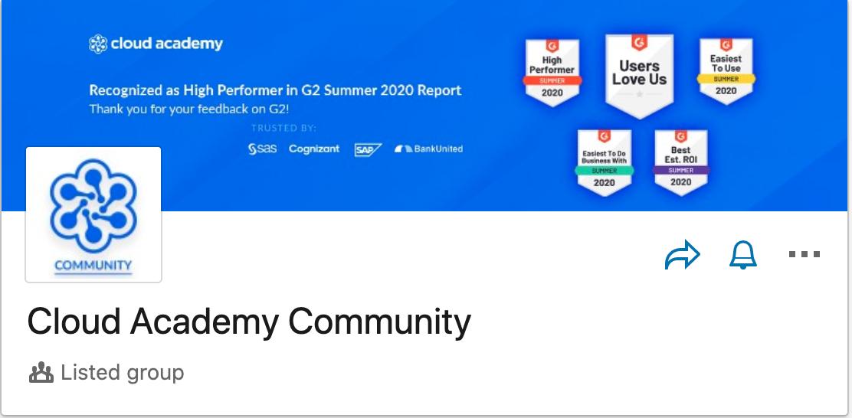 Cloud Academy Community