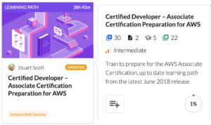 AWS Developer Certification Learning Path