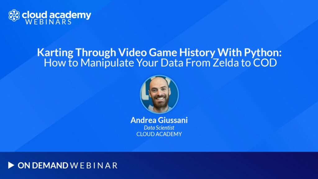 Webinar | Karting Through Video Game History With Python: How to Manipulate Your Data From Zelda to COD