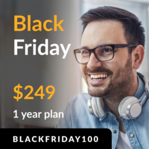 Black Friday $249 for 1 year