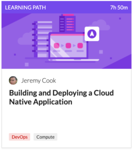 Building and developing a cloud native application