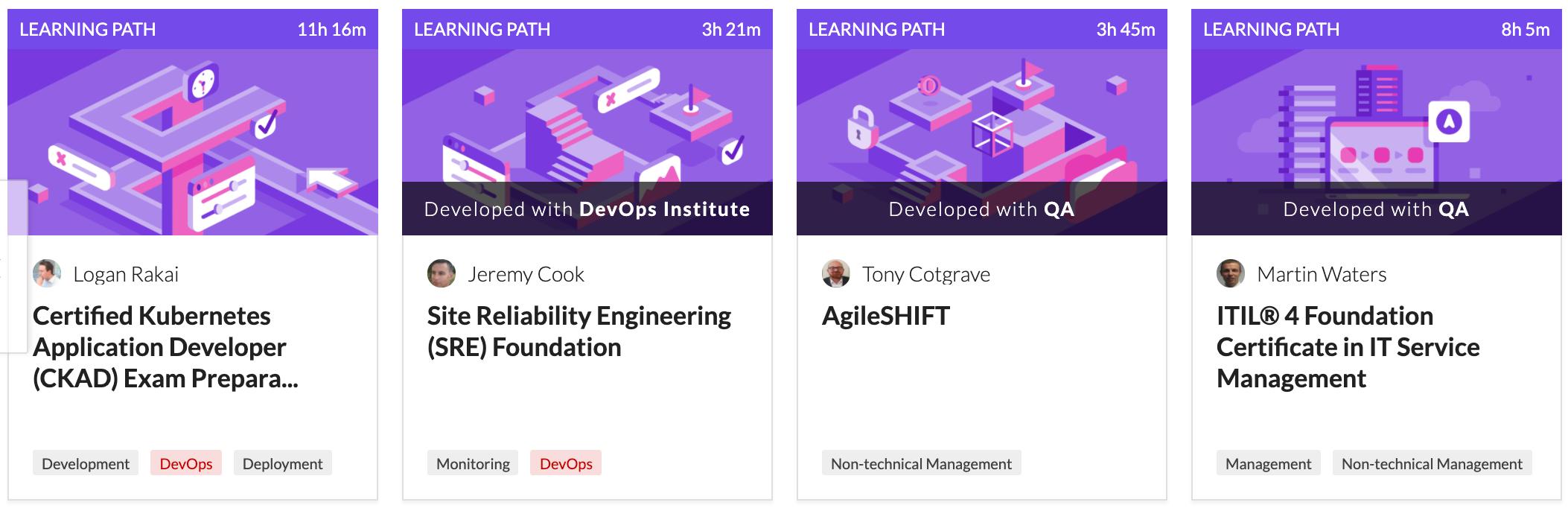 Cloud Academy DevOps Certifications