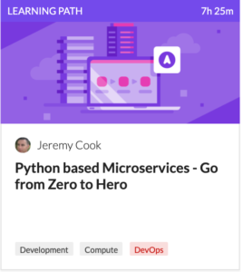 Python based microservices