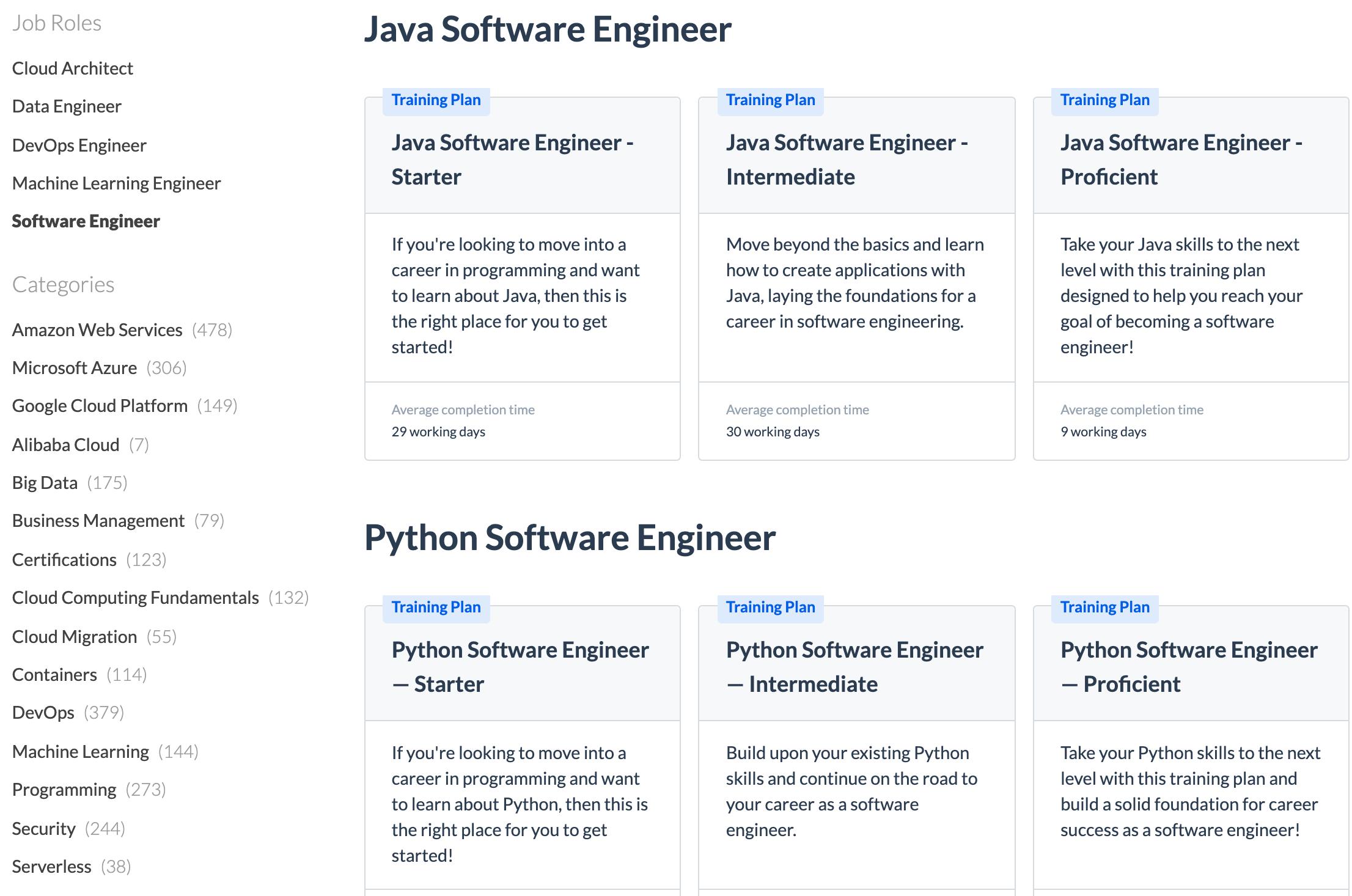 Software Engineer Job Roles