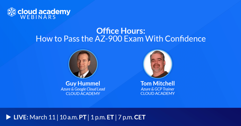 Office Hours: How to Pass the AZ-900 Exam With Confidence