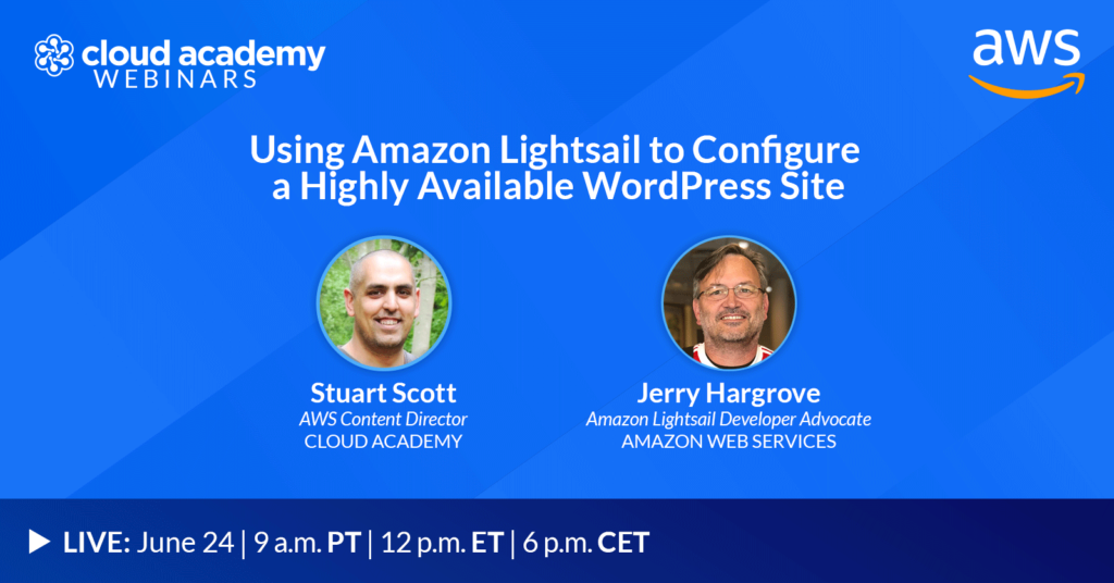 Using Amazon Lightsail to Configure a Highly Available WordPress Site