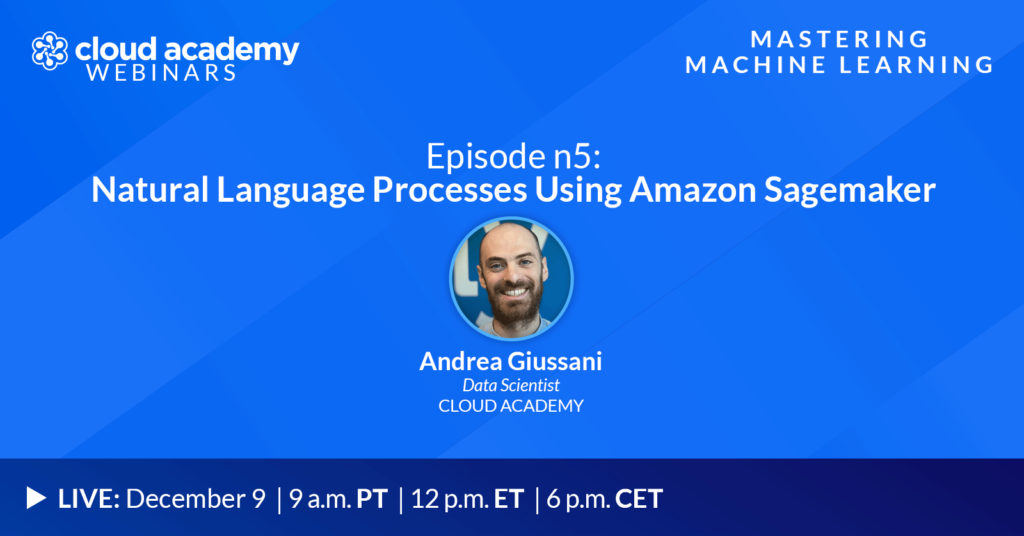 With a Ph.D. in Statistics, Andrea is a full-time Data Scientist at Cloud Academy. On top of his day to day job, he is also an Academic Fellow in Computer Science at Bocconi University in Milan. He is also a published author, check out his bestseller Applied Machine Learning with Python.