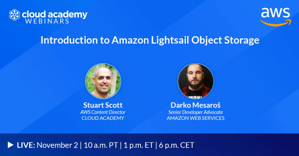 Introduction to Amazon Lightsail Object Storage
